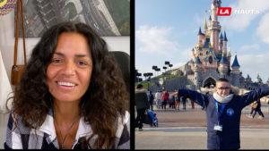Enfant à Disneyland